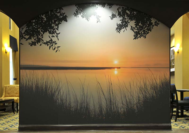 Wall Murals Nature murals | will dickey florida nature photography - images of