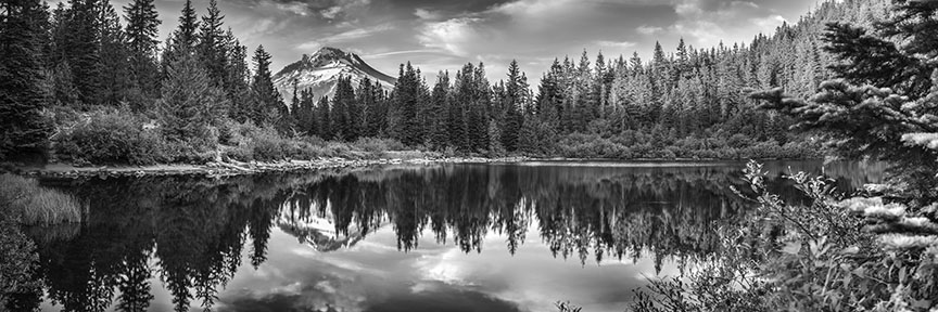 Mt hood 070415 34pbw black and white will dickey florida nature photography