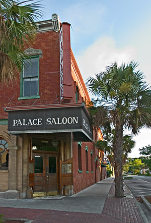 Palace Saloon, Fernandina Beach 080705-B20 : Panoramas and Cityscapes : Will Dickey Florida Nature Photography - Images of Florida's First Coast - Nature and Landscape Photographs of Jacksonville, St. Augustine, Florida nature preserves