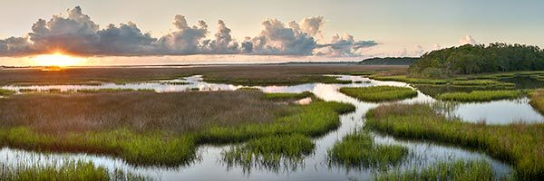 Round Marsh Sunrise