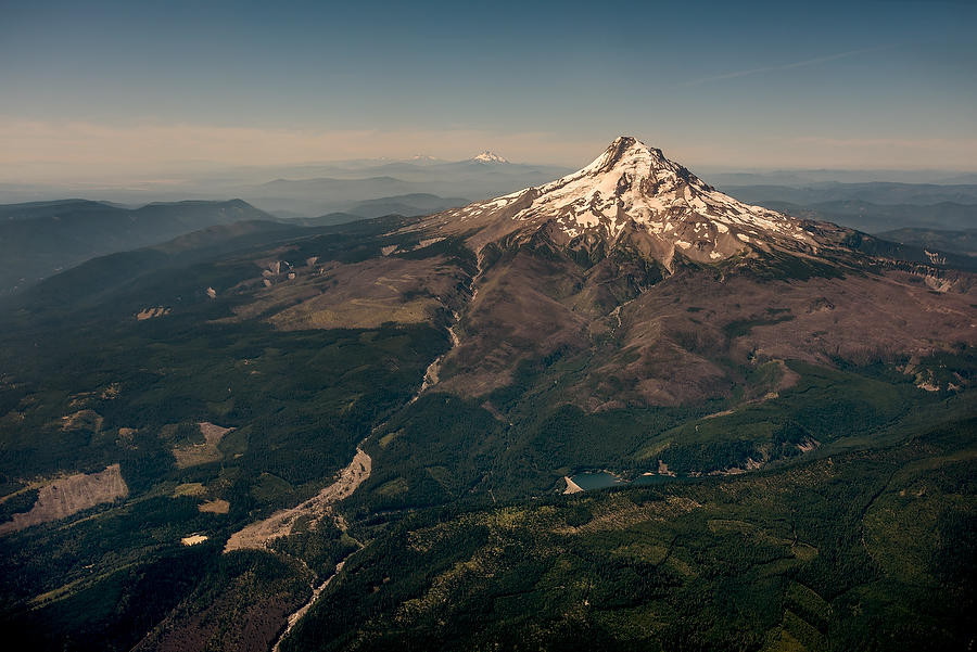 Mt. Hood Aerial