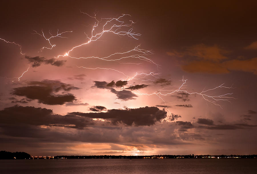 Lightning on St. Johns River 