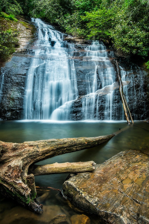 Helton Creek Falls 062616-311 : Appalachian Mountains : Will Dickey Florida Nature Photography - Images of Florida's First Coast - Nature and Landscape Photographs of Jacksonville, St. Augustine, Florida nature preserves